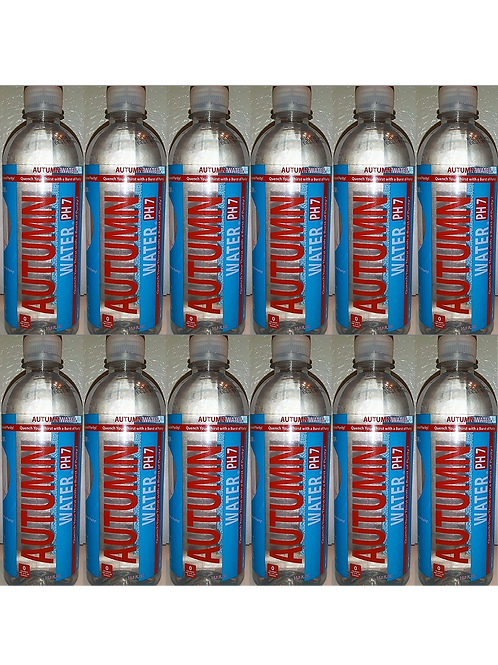 AUTUMN WATER PH7 (12 PACK) - 16.9 oz Recyclable Bottle