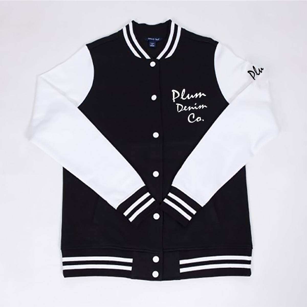 Plum Denim Co. Lady Varsity Jacket