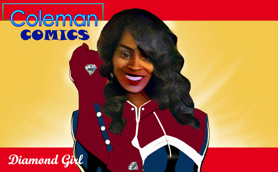 Coleman Comics - Diamond Girl