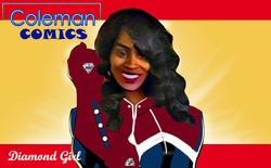 Coleman Comics - Diamond Girl