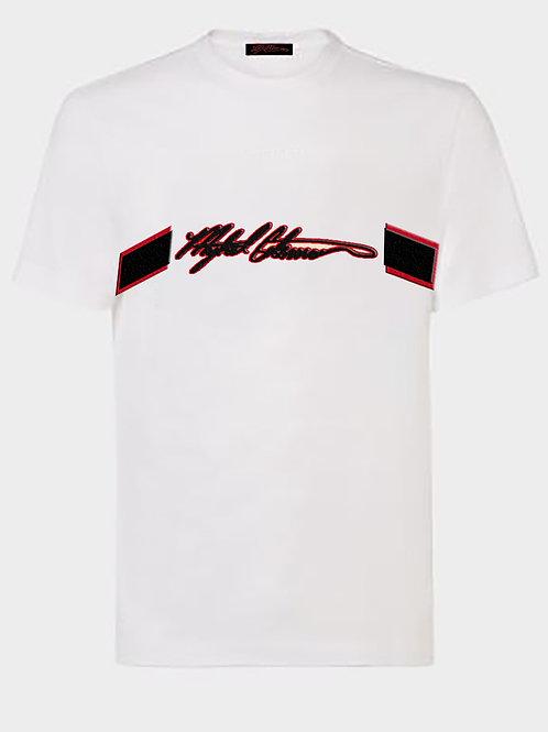 Mykel Coleman Embellished Logo T-Shirt
