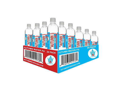 AUTUMN WATER PH7 (24 PACK) - 16.9 oz Recyclable Bottle