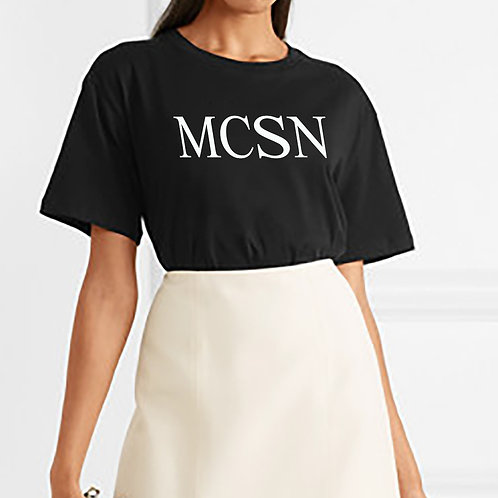 MCSN Printed Cotton Jersey T-Shirt