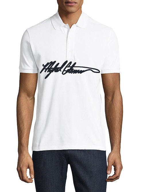 Logo Stamped Mykel Coleman Print Signature T