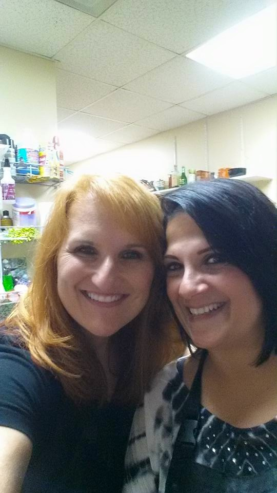 Janine and I