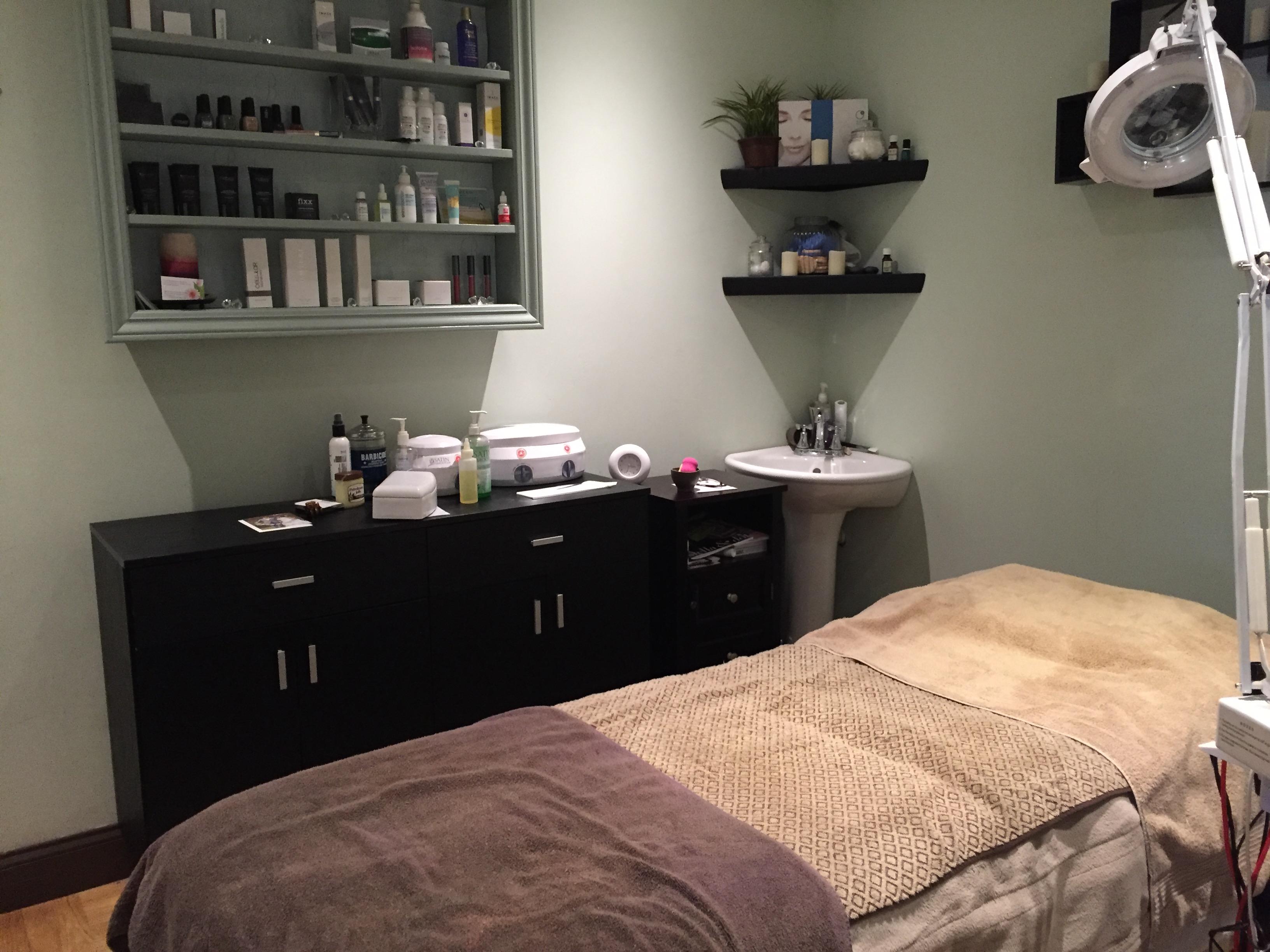 Facial and Waxing Room