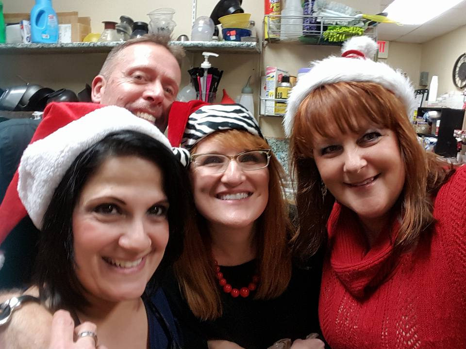 Christmas silliness at Chateau
