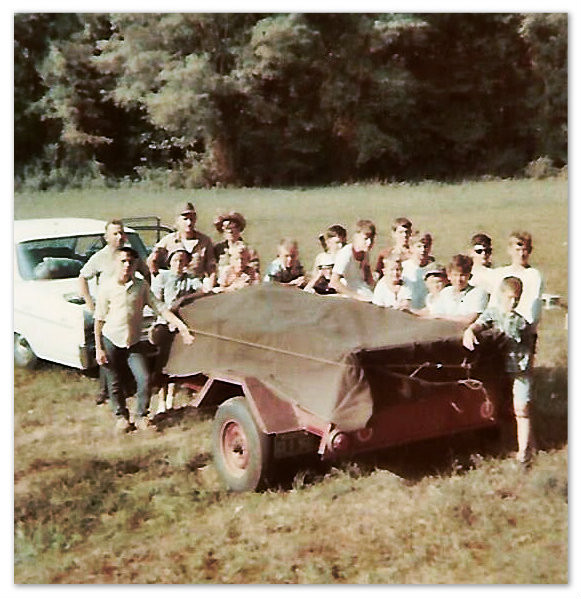 Troop 320 at Brasstown Bald, 1967