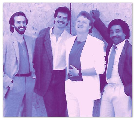 L-R: Uncle Dave, John Smith, Joe Shear, Napoleon Williams
