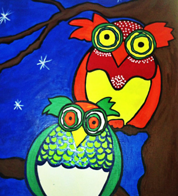 TWO OWLS : SOLD