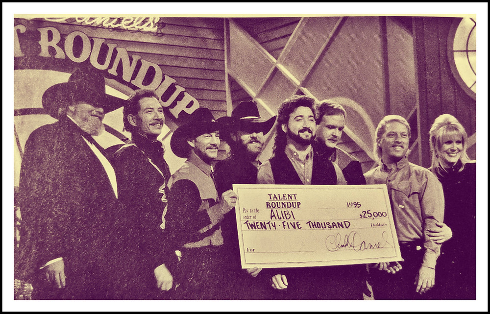 Winners of the Charlie Daniel's Talent Roundup, 1995.