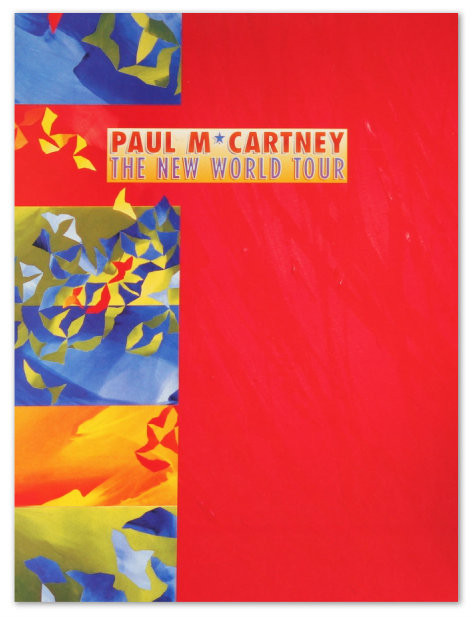New World Tour Program