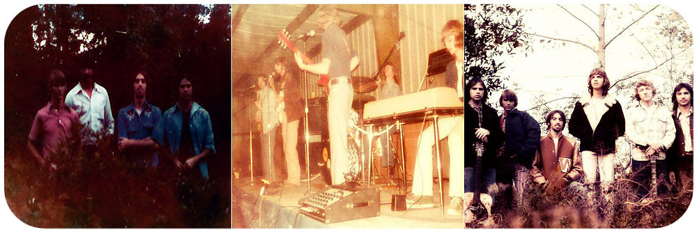 Sweetbriar, Waycross's first country-rock band, 1974-75