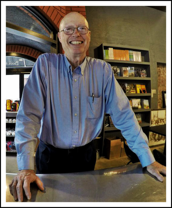 Author/publisher/book store owner Mike Orenduff.