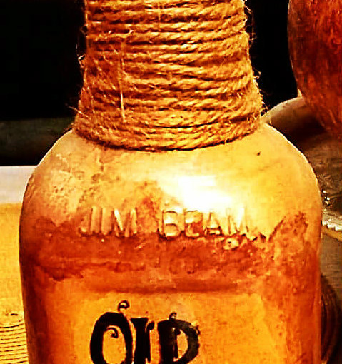 OLD CROW MEDICINE SHOW BOTTLE  : $10