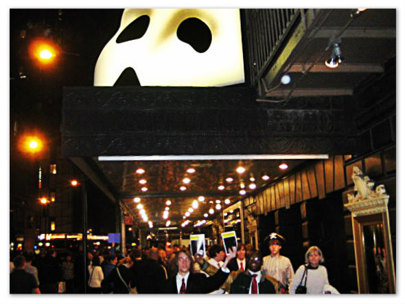 The Phantom of the Opera, Majestic Theatre, April 14 2011.