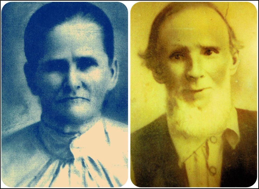 My great-great-grandparents, Peter and Margaret Thrift Griffin.