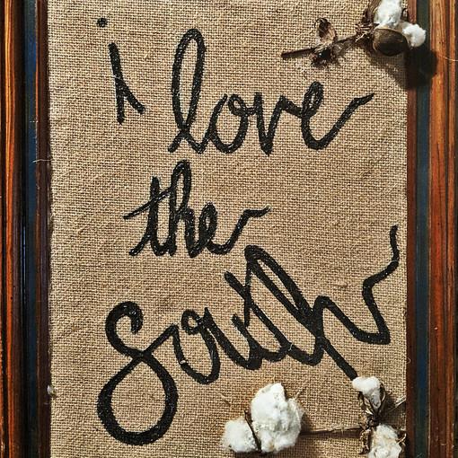 I LOVE THE SOUTH : $35