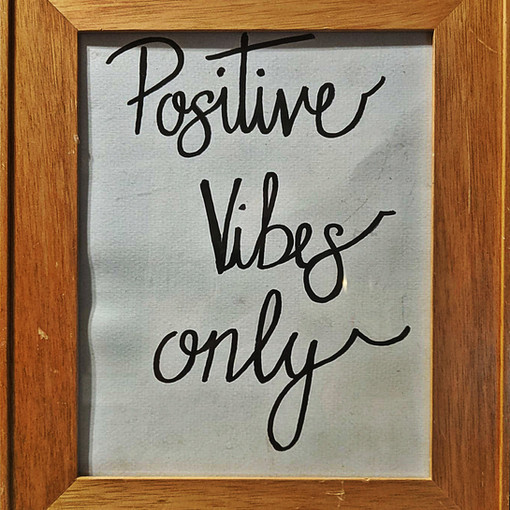 POSITIVE VIBES ONLY : $35
