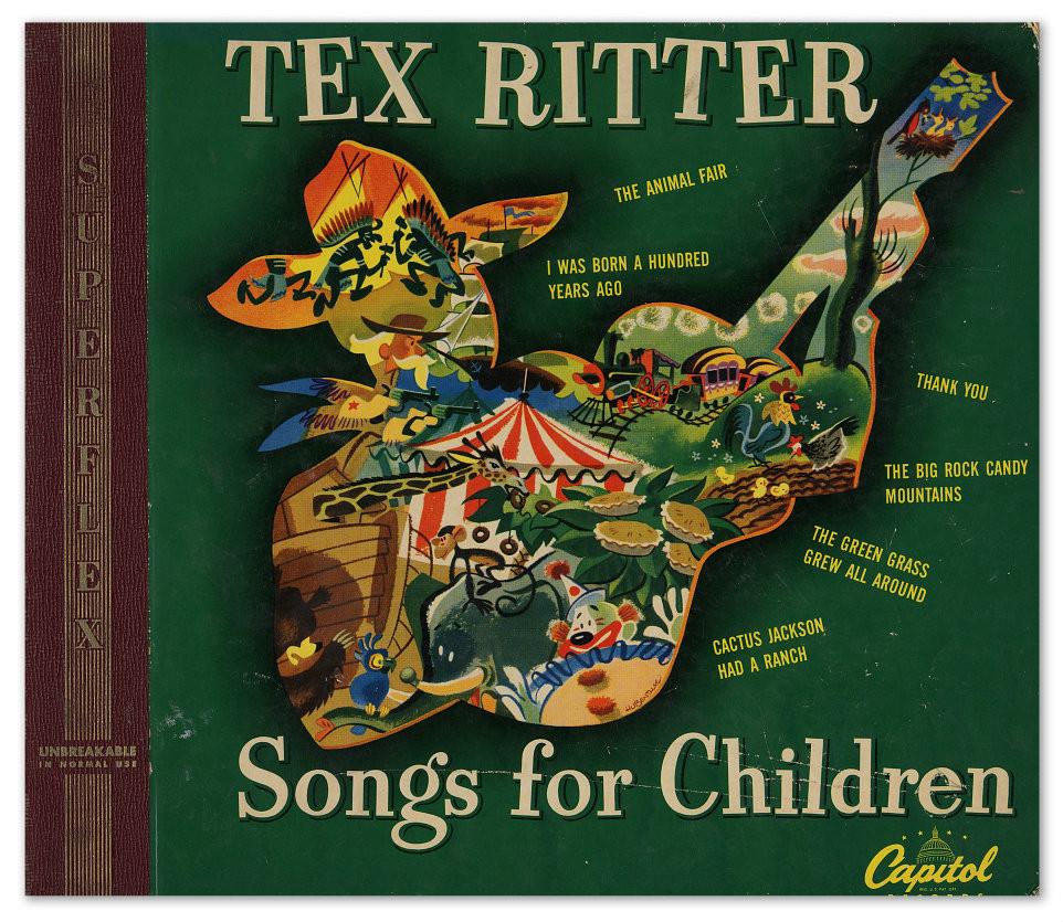 Tex Ritter Songs for Children, 1948