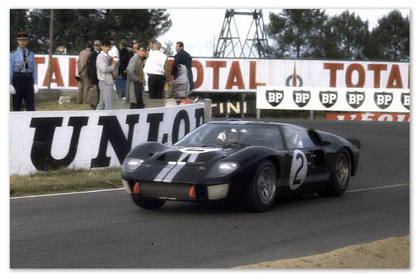 Sometimes you win.  Ford's GT40 Mark II, Le Mans 1966
