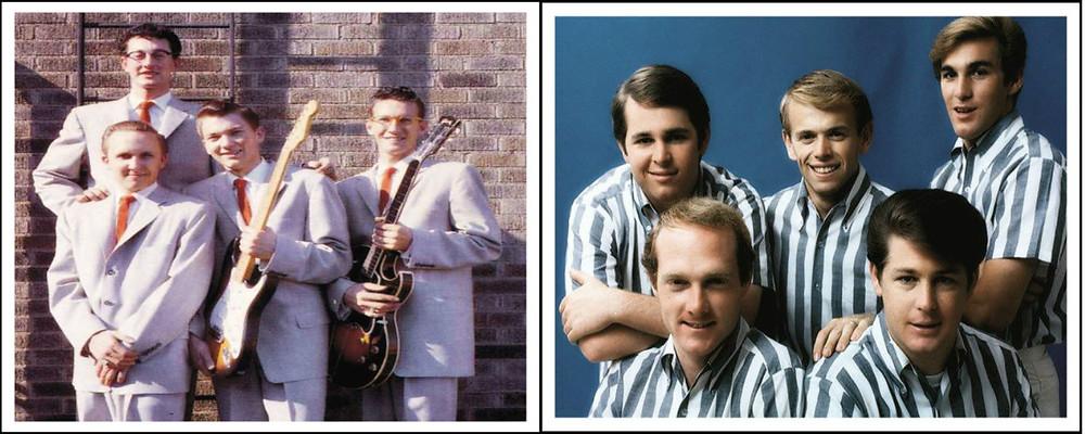 Buddy Holly and the Crickets / The Beach Boys