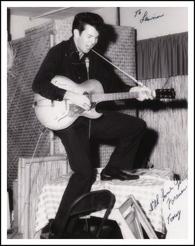Tony Joe White gettin' down in Corpus Christi, Texas.
