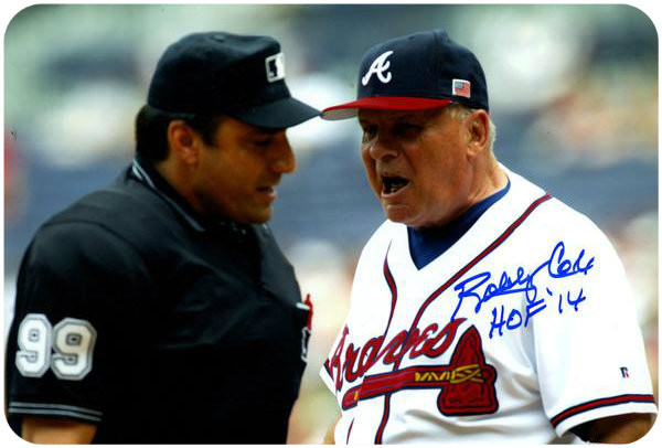 Bobby Cox fixin' to be ejected.