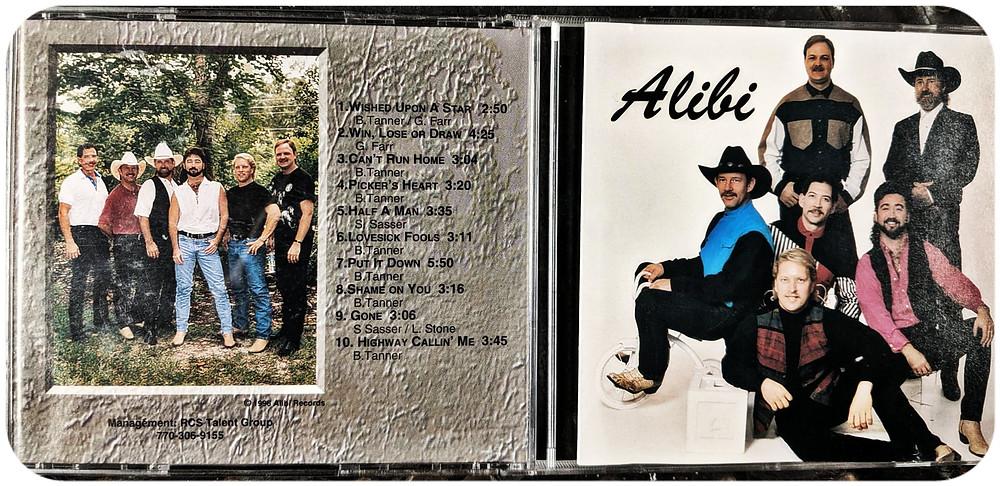 Alibi's self-titled debut CD.
