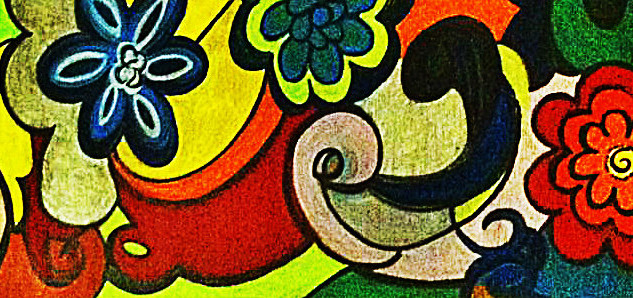 FUNKY FLOWERS : SOLD