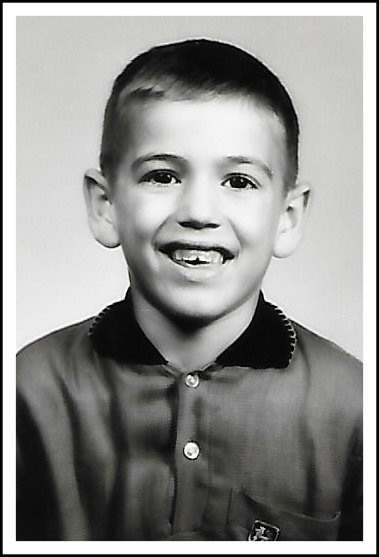7-year-old Uncle Dave.  1960-61