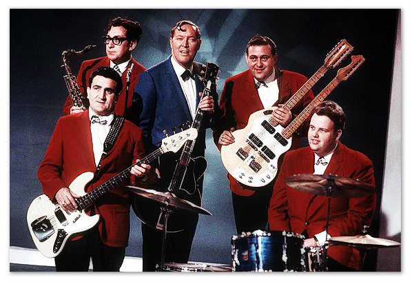 Bill Haley and His Comets in the dawn of rock 'n' roll.