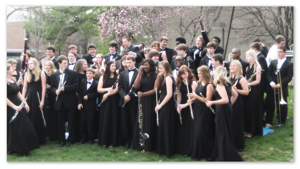 Ware County Concert Symphonic Band, Montclair State University, April 15 2011.