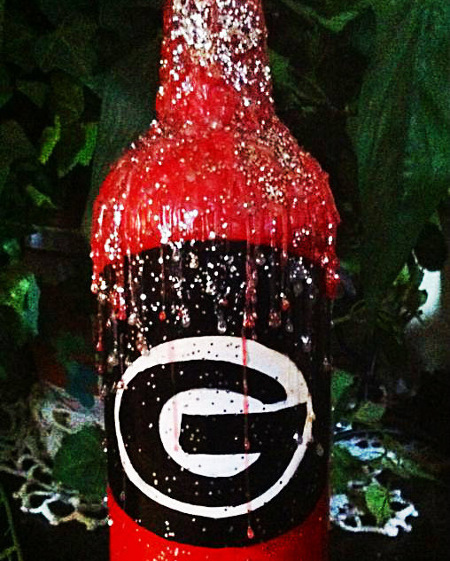 GEORGIA BULLDOG BOTTLE : $10
