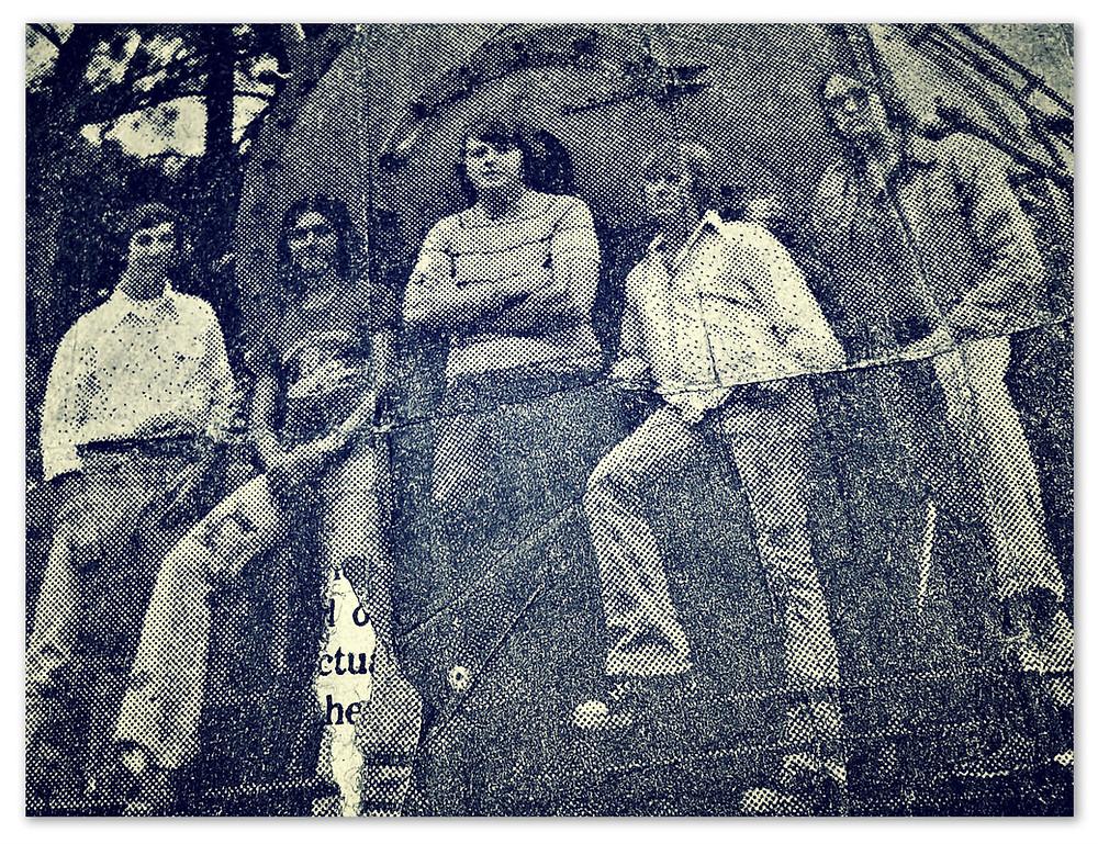 Papa's Pride. L-R: Jake Lee, Robbin Rudd, Ferrell Howell, Jerry Mercer, Leroy Cason