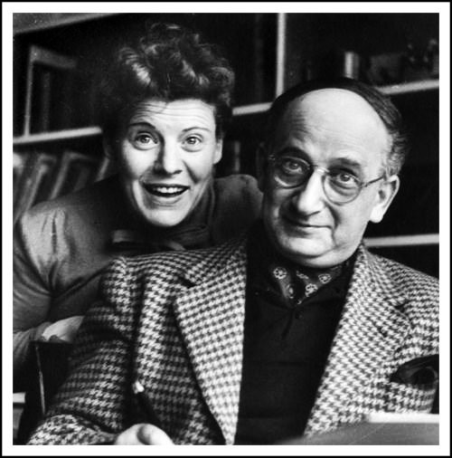 Margret and Hans Rey in the 40s.