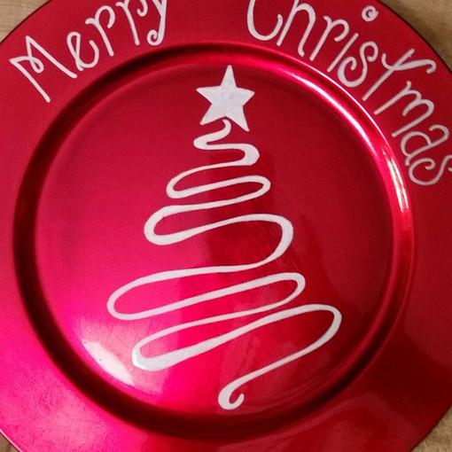 CHRISTMAS PLATE : $15