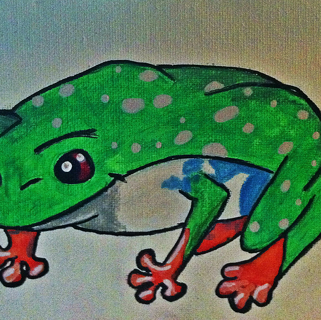 TREE FROG : SOLD