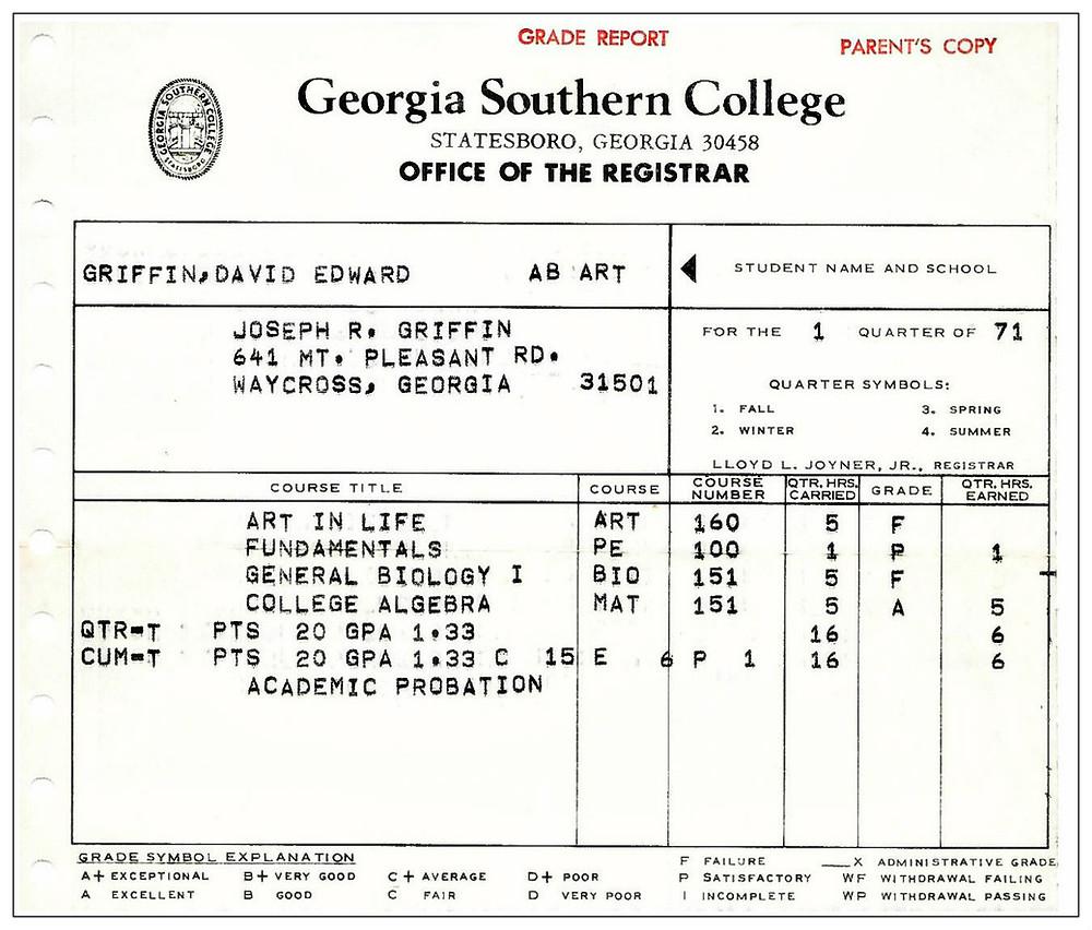 Death by Postal Service.  1971