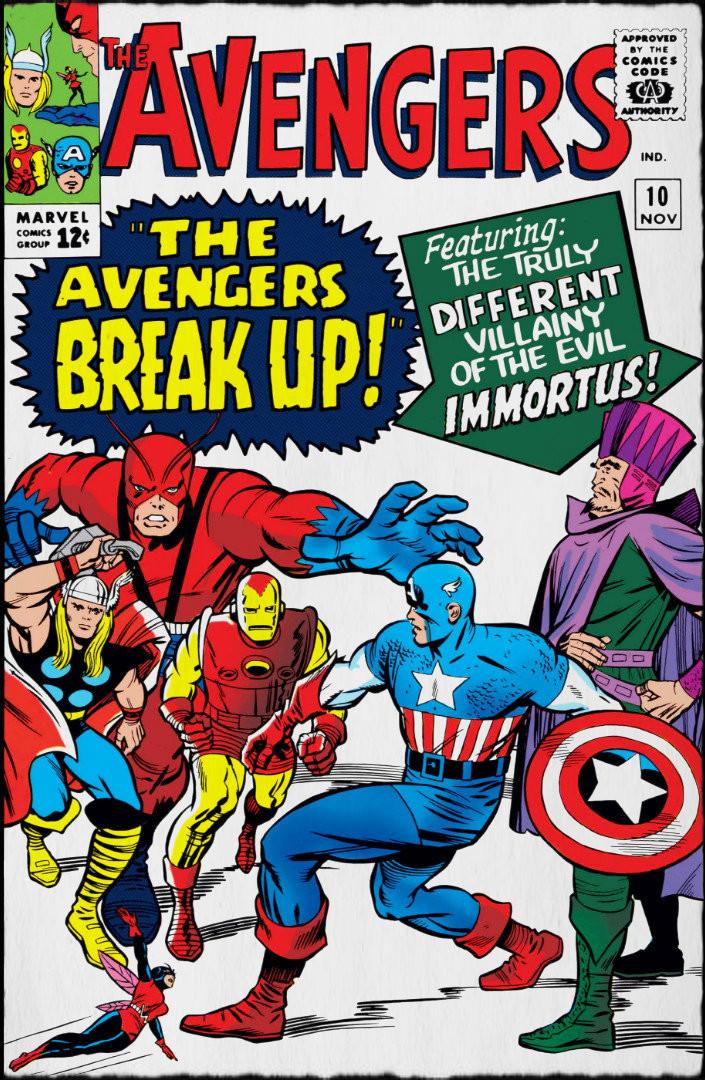 The Avengers.  Nov 1964