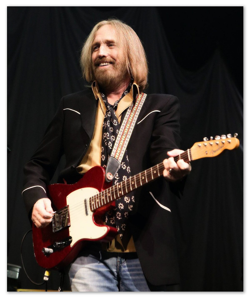 The real Tom Petty.  2014