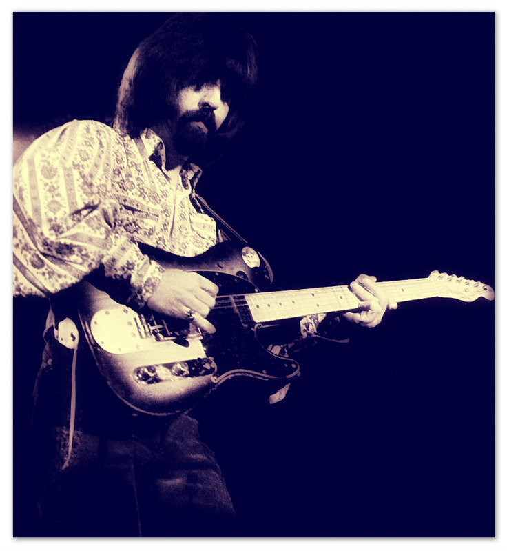 Bluegrass and country guitar legend, Clarence White.