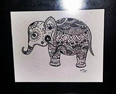 ELLIE ELEPHANT : SOLD