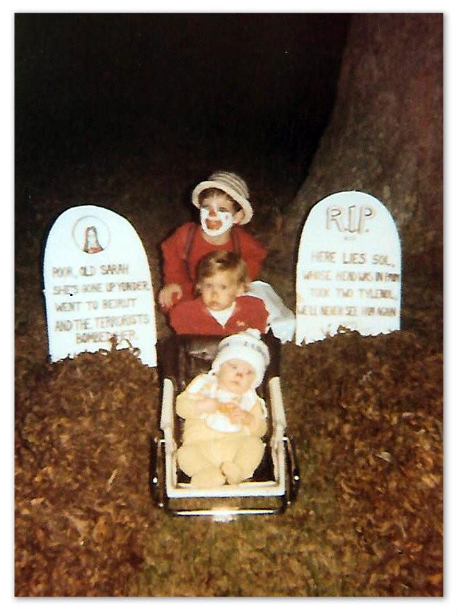 Nephew Gram Griffin, nieces Erin Haney Blair and Laura Griffin Sansot. 1982