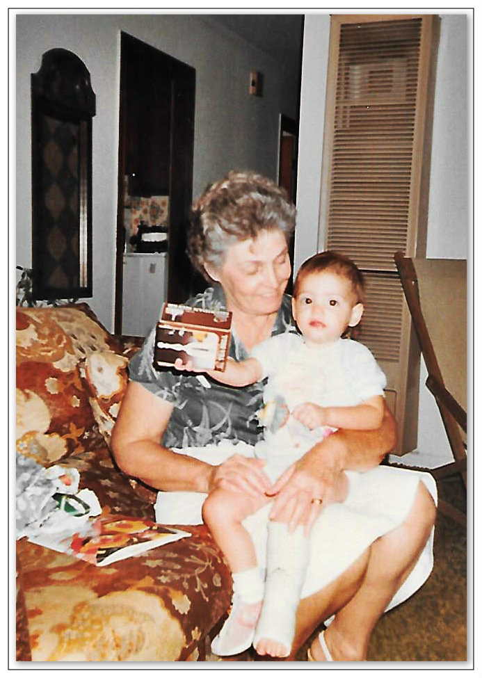 Gra'ma Griffin and Little Broken Wing.  1985