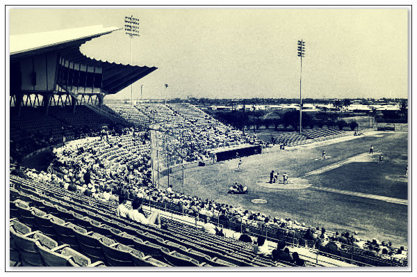 West Palm Beach Municipal Stadium.  West Palm Beach, Florida