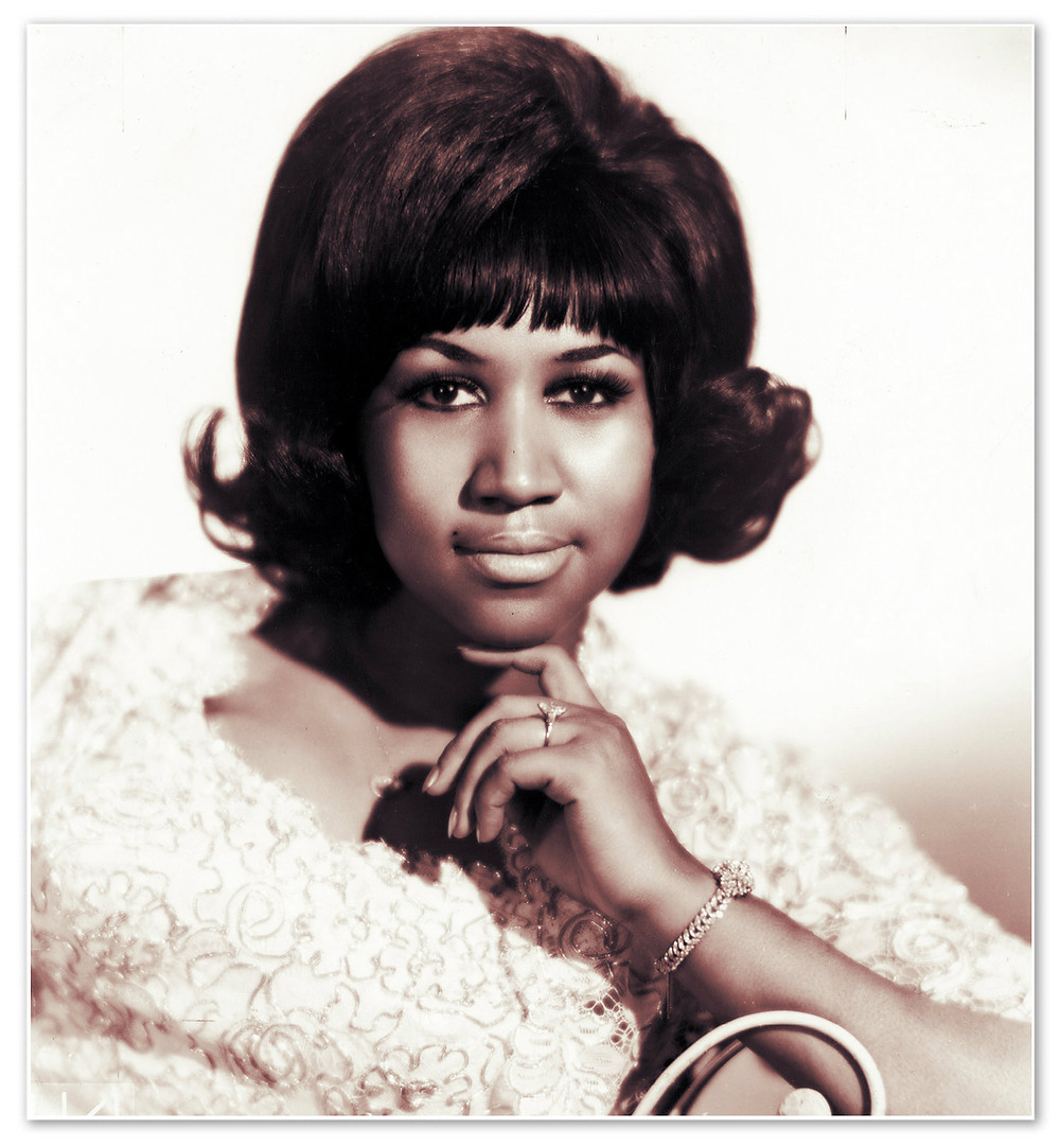 The Queen of Soul, 1960s.