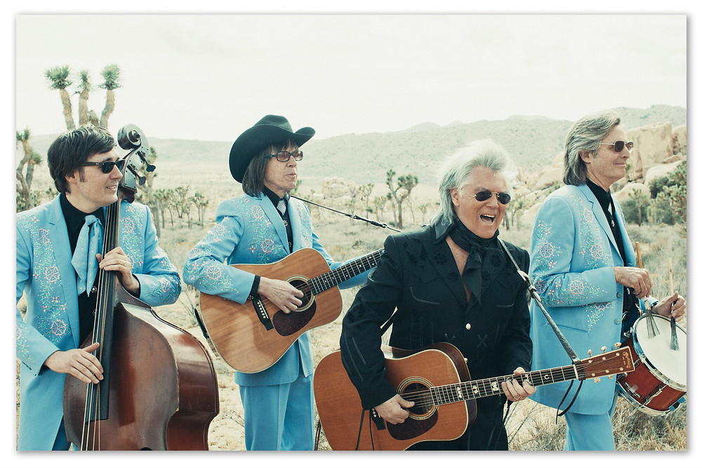 Marty Stuart and His Fabulous Superlatives. L-R: Chris Scruggs, Kenny Vaughan, Marty, Harry Stinson.