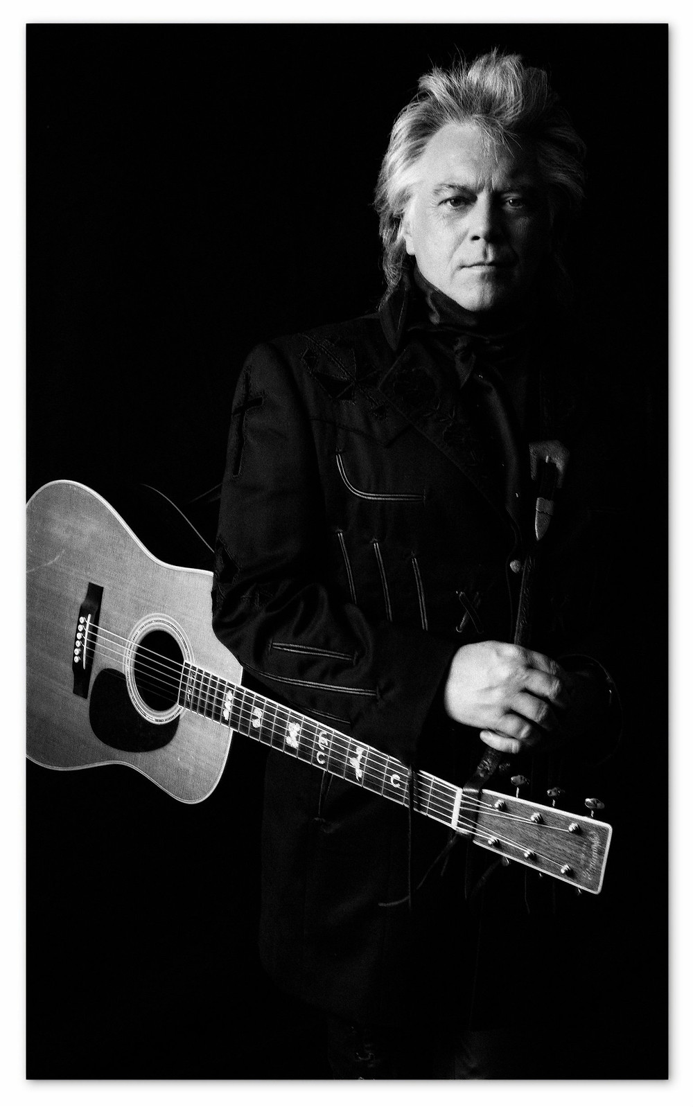 Country music legend, Marty Stuart.