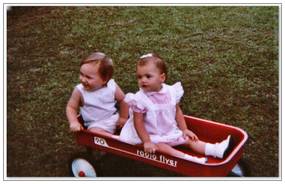 Future Folkadelic band members.  Justin Minchew and Megan Griffin. 1984